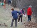 Upratovanie a čistenie náučného chodníka pri Sĺňave.