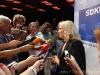 Volebná noc po parlamentných voľbách na Slovensku