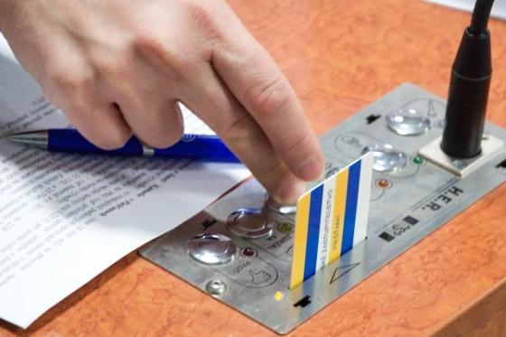 poslanci hlasovanie karta