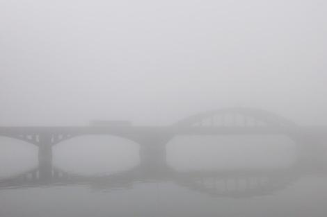 krajinsky most-hmla