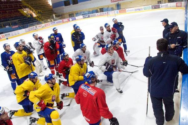 trening hokej