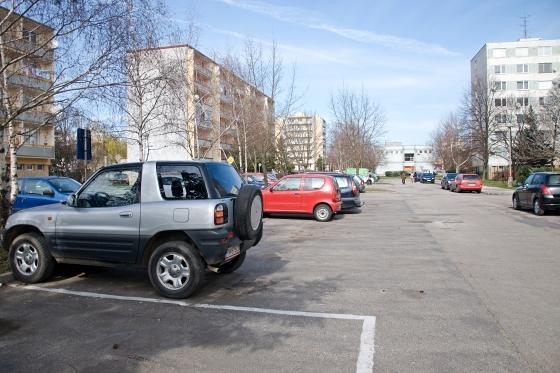 parkovisko juh