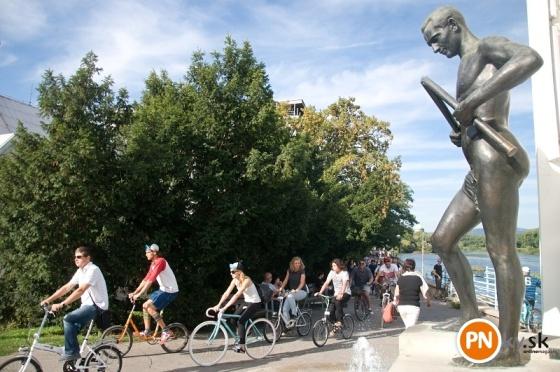 cyklisti piestany