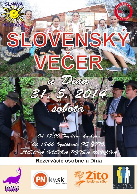 slovensky vecer