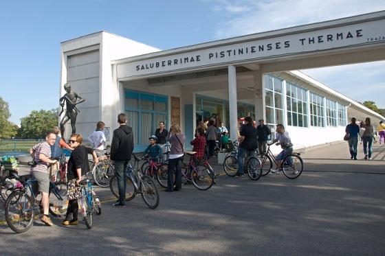 kolonadovy most cyklisti