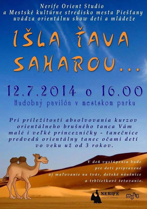 plagat Isla Tava saharou