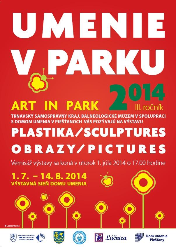 umenie v parku 2014