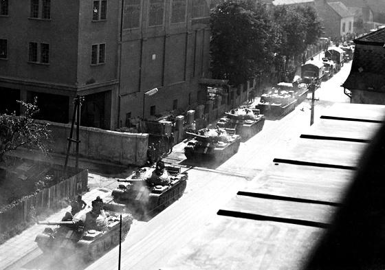 okupacia 1968 foto Eduard Budke