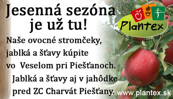 Jablká a šťavy z Plantexu