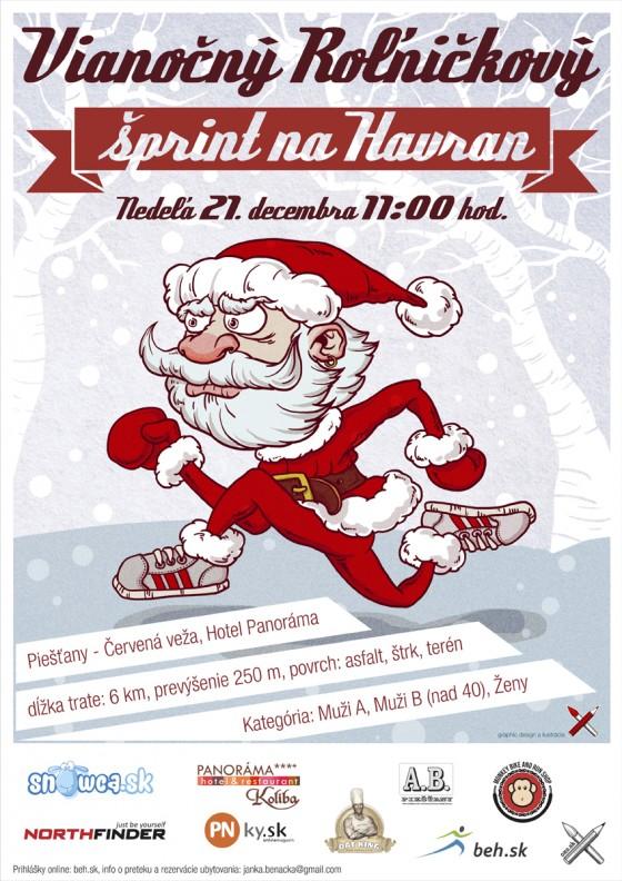 vianocny sprint na havran 2014