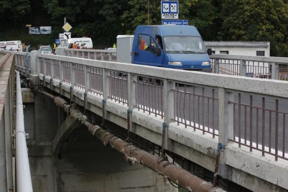 krajin most potrubie