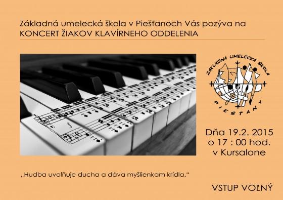 plagat klavir