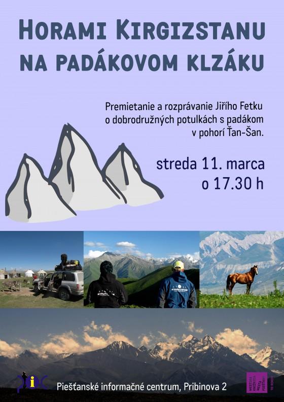 Horami Kirgizstanu na padákovom klzáku