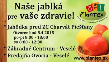 Naše jablká pre vaše zdravie – Plantex