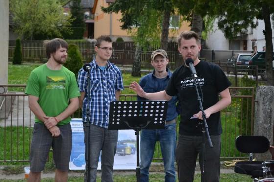Autori Zľava Jozef Vrbovský, Matej Machala, Matej Slabý, Jakub Tomiš