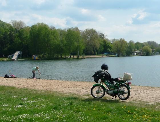 Areál prírodného kúpaliska využívajú aj rybári