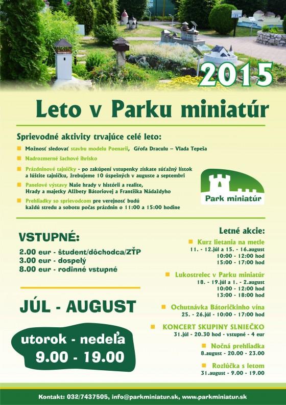 Leto 2015 v Parku miniatúr - A4
