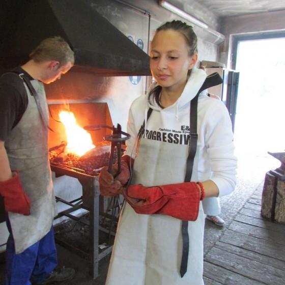Rakúsko - v kováčskej dielni