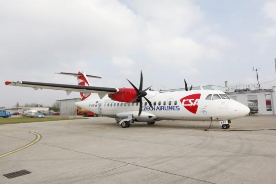 lietadlo CSA ATR 42 500