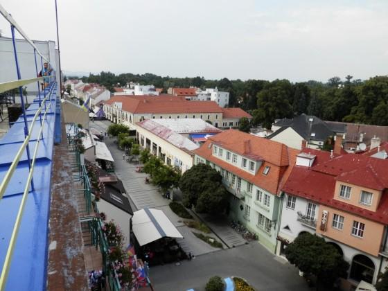 Pohľad z hotela Jalta zaujal mnohých