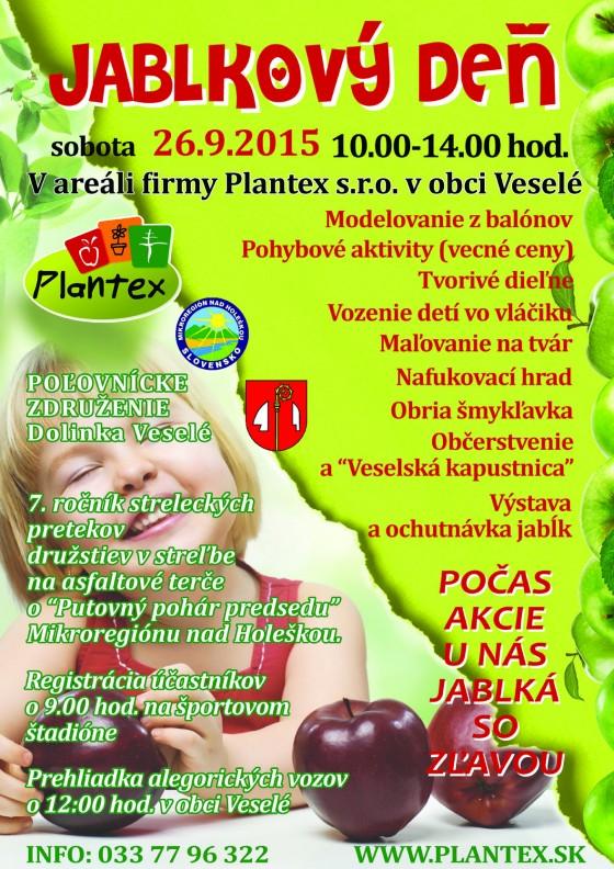 Jablkový deň, Plantex