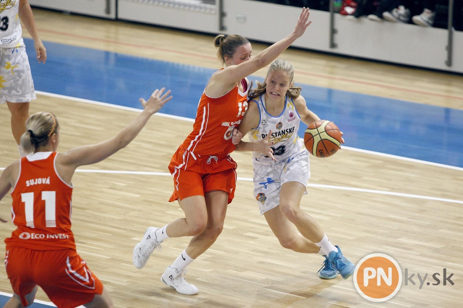 Tereza Páleníková v súboji Dominikou Baburovou