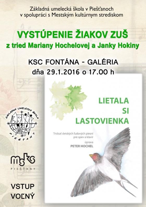 Plagát Lastovienka
