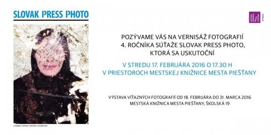 Slovak Press Photo 2015 - pozvánka