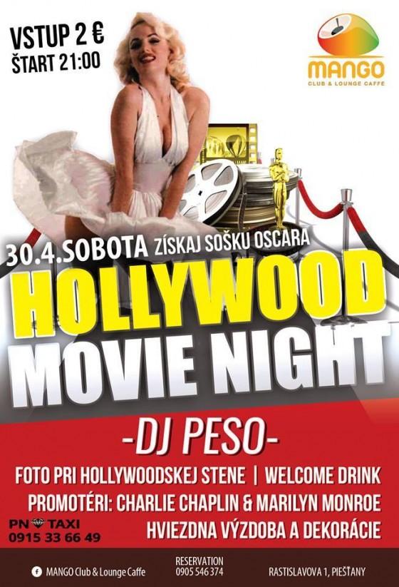 30042016 Hollywood movie night Mango