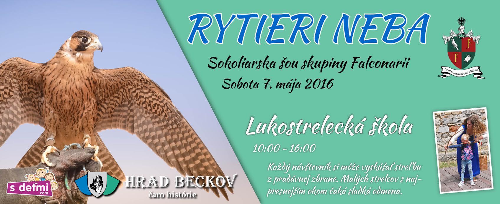 Banner_Rytieri neba_Luk skola