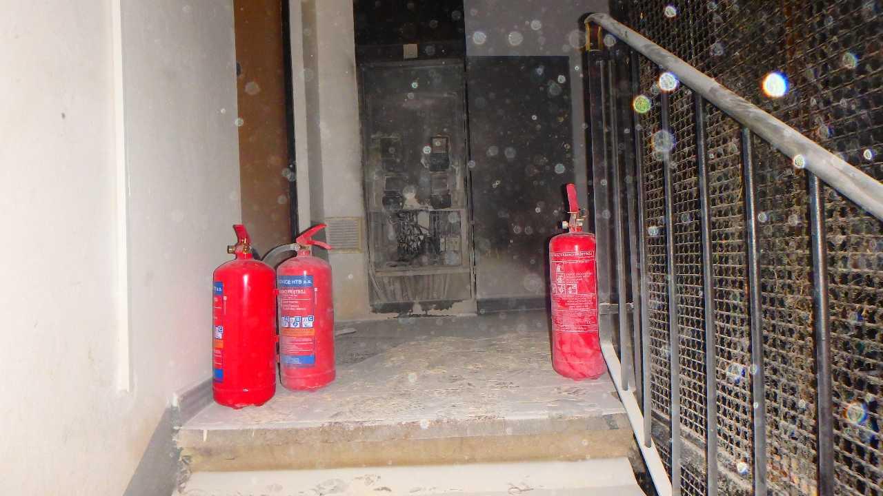 Požiar rozvodnej skrine (4)