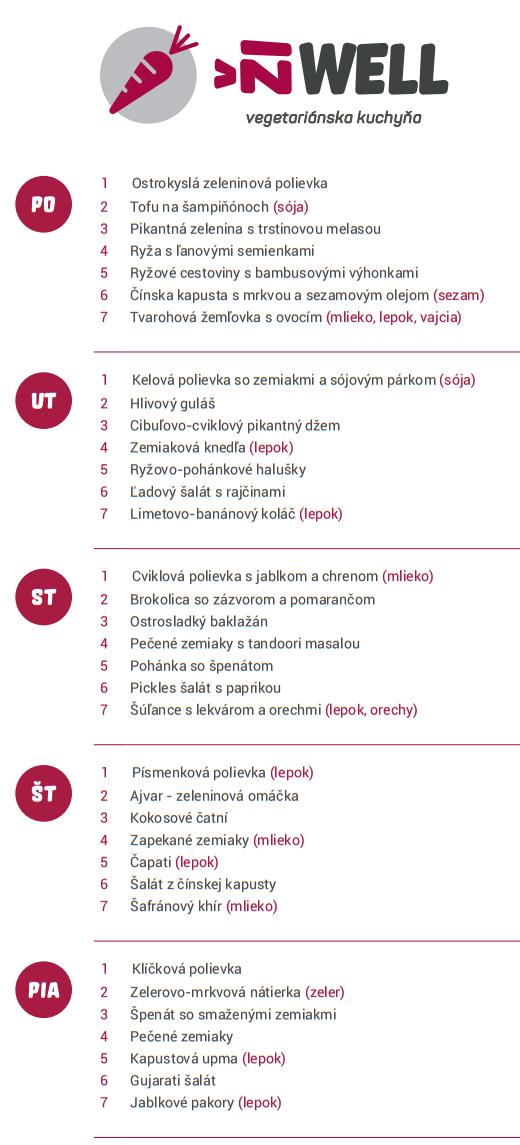 žiwel menu sept1
