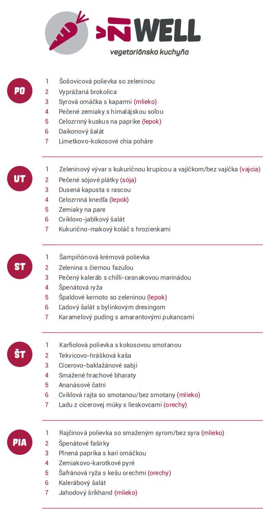 menu 19. 9