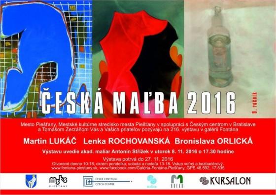 Česká malba 2016