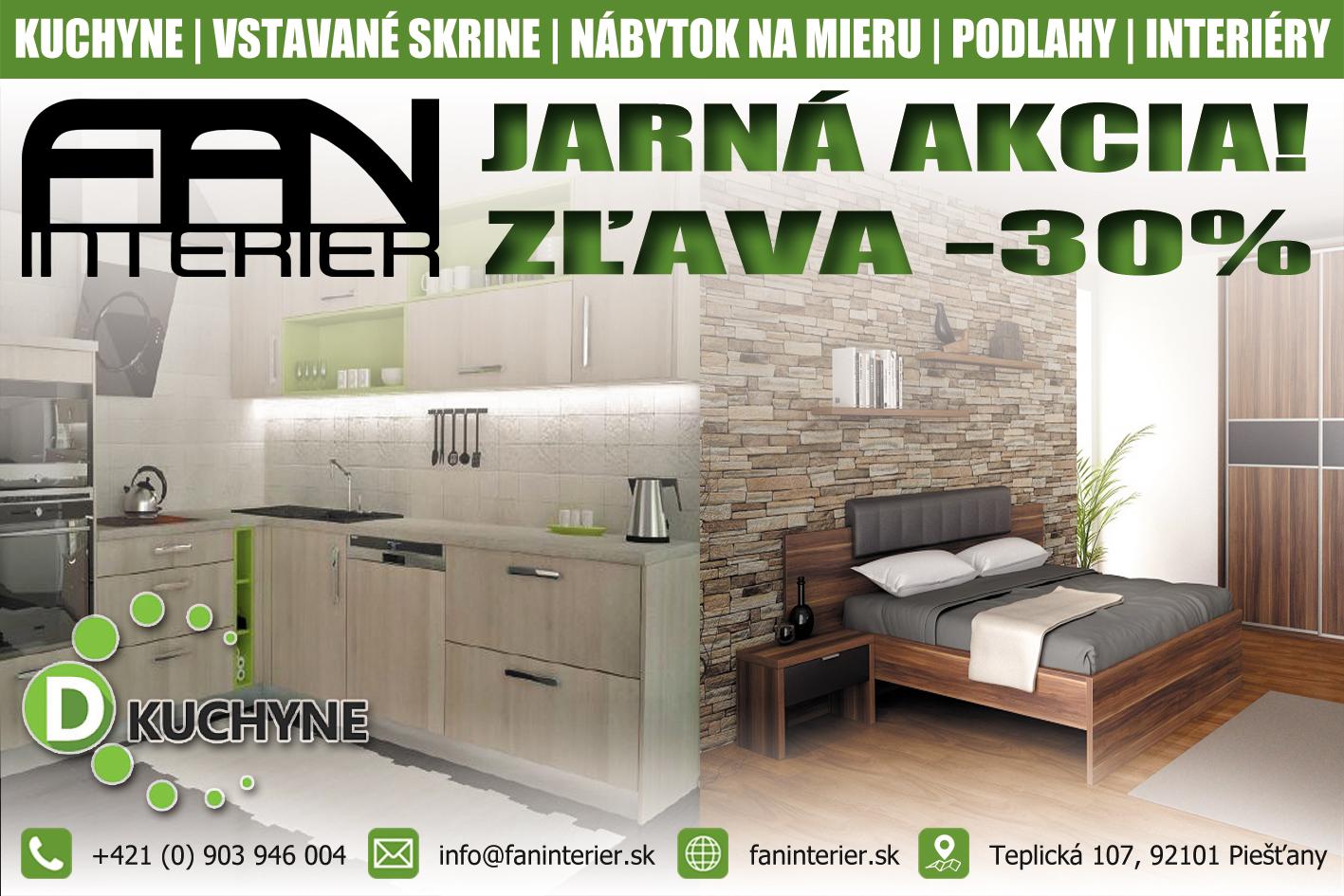 3aef5223e259 Navrhnite si kuchyňu podľa vašich predstáv a využite 30 percentnú jarnú  zľavu - PNky.sk