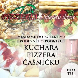 Pizzeria Leierov dvor praca