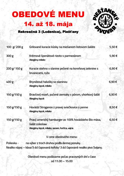 cb864b0910 Obedové menu v pivovare ŽiWell ponúka tento týždeň 7 jedál - PNky.sk