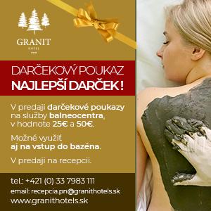 Granit darcekovy poukaz