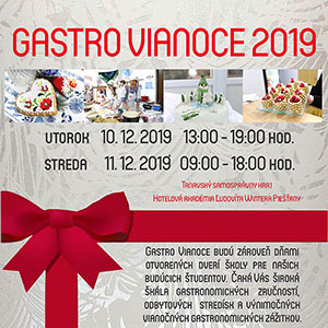 Gastro Vianoce 2019