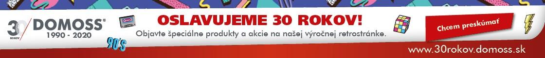 30 rokov Domoss