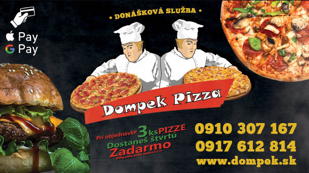 Dompek Pizza donaskova sluzba