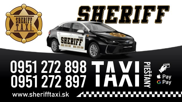 Sheriff Taxi Piešťany