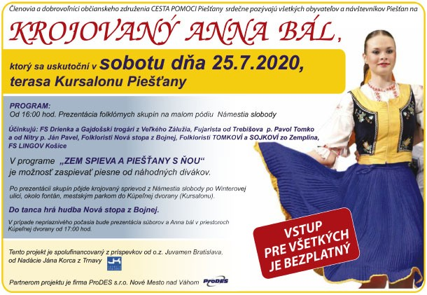 Krojovaný Anna Bál 2020